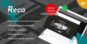 Ireca v1.2.8 – Car Rental Boat, Bike, Vehicle, Calendar WordPress Theme