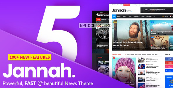 Jannah News v5.0.7 – Newspaper Magazine News AMP BuddyPress