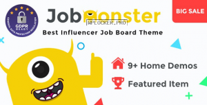 Jobmonster v4.6.6 – Job Board WordPress Theme