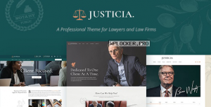Justicia v1.3.0 – Lawyer and Law Firm Theme