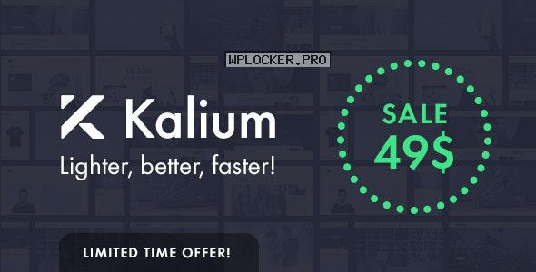 Kalium v3.0.7 – Creative Theme for Professionals