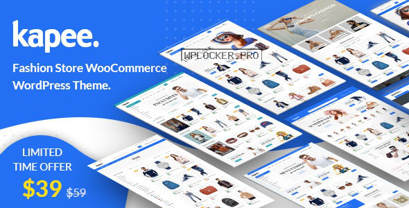 Kapee v1.3.5 – Fashion Store WooCommerce Theme