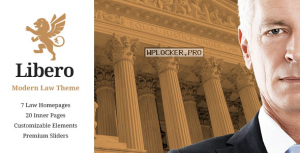 Libero v2.1 – A Theme for Lawyers and Law Firms