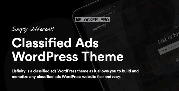 Lisfinity v1.1.7 – Classified Ads WordPress Theme