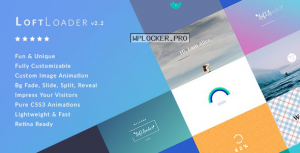 LoftLoader Pro v2.2.3 – Preloader Plugin for WordPress