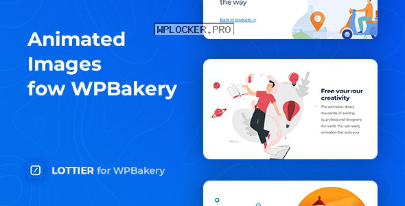 Lottier v1.0.1 – Lottie Animated Images for WPBakery