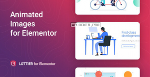 Lottier v1.0.3 – Lottie Animated Images for Elementor