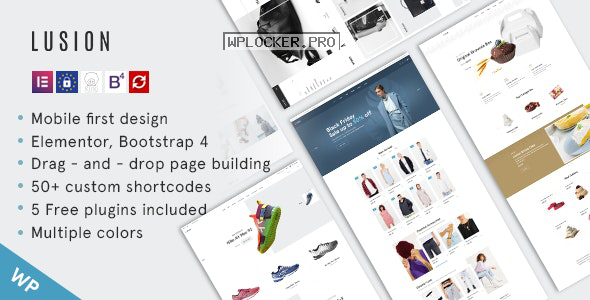 Lusion v1.0.0 – Multipurpose eCommerce WordPress Theme