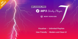 MP3 Sticky Player v7.1 – WordPress Plugin