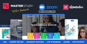 Masterstudy v4.0.0 – Education Center WordPress Theme