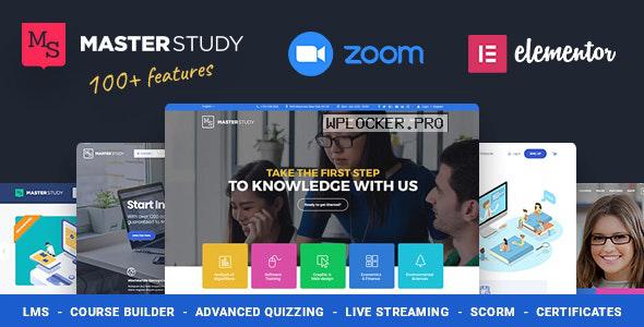 Masterstudy v4.0.1 – Education Center WordPress Theme