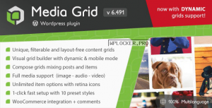 Media Grid v6.493 – WordPress Responsive Portfolio