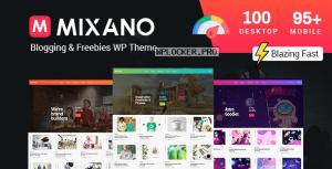 Mixano v1.1.6 – Minimal WordPress Theme