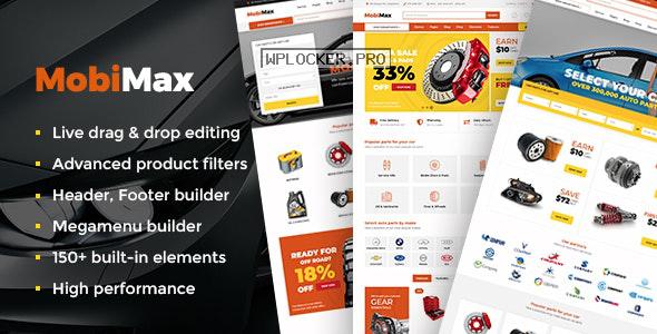 Mobimax v3.2 – Auto Parts WordPress Theme + WooCommerce Shop