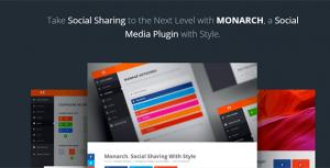 Monarch v1.4.13 – A Better Social Sharing Plugin
