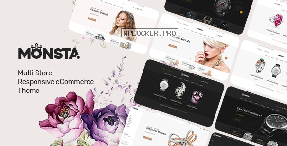 Monsta v1.0.7 – Jewelry Theme for WooCommerce WordPress