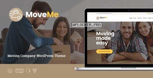 MoveMe v1.2.3 – Moving & Storage Relocation Company WordPress Theme