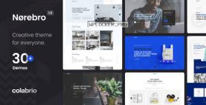 Norebro v1.5.1 – Creative Multipurpose WordPress Theme
