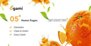 Ogami v1.25 – Organic Store & Bakery WordPress Theme