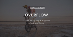 Overflow v1.4.5 – Contemporary Blog & Magazine Theme