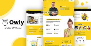 Owly v2.0 – Tutor, Training WordPress, elearning Theme