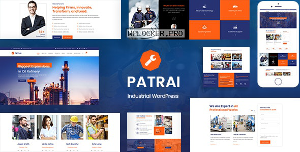 Patrai Industry v1.7 – Industrial WordPress
