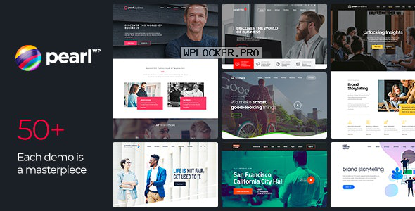 Pearl WP v3.2.3 – Corporate Business WordPress Theme