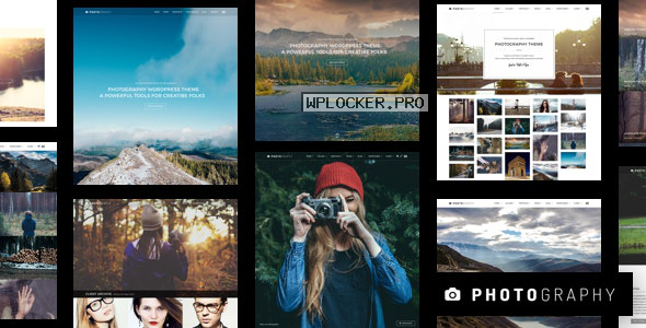 Photography v6.7.2 – Responsive Photography Theme