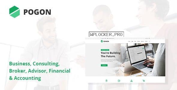 Pogon v1.0.4 – Business and Finance Corporate WordPress Theme