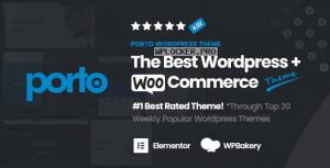 Porto v5.4.6 – Responsive eCommerce WordPress Theme