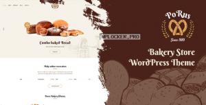Porus v1.0.3 – Bakery Store WordPress Theme