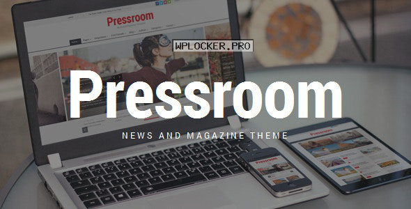 Pressroom v4.8 – News and Magazine WordPress Theme