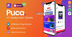 Puca v2.2.0 – Optimized Mobile WooCommerce Theme