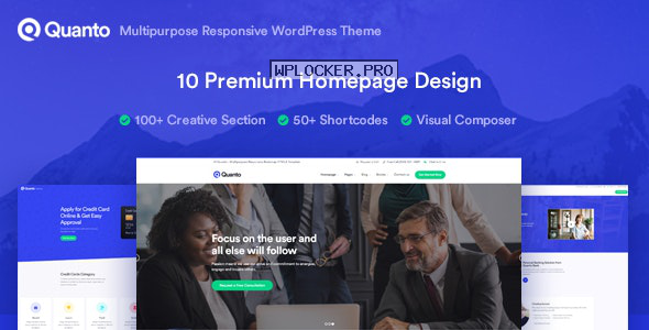Quanto v1.1.1 – Business Responsive WordPress Theme