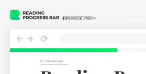 ReBar v2.0.3 – Reading Progress Bar for WordPress Website