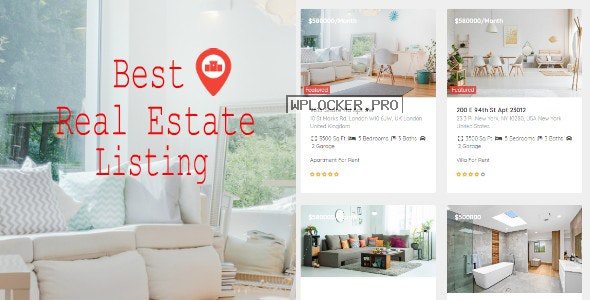 Real Estate Pro v1.8.4 – WordPress Plugin