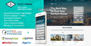 Realtyspace v1.4.20 – Real estate WordPress Theme