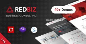 RedBiz v1.2.1 – Finance & Consulting Multi-Purpose Theme