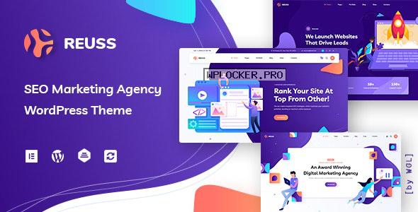 Reuss v1.0.3 – SEO Marketing Agency WordPress Theme