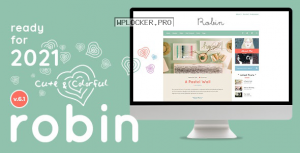 Robin v6.1 – Cute & Colorful Blog Theme