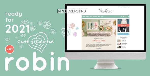 Robin v6.1 – Cute & Colorful Blog Theme