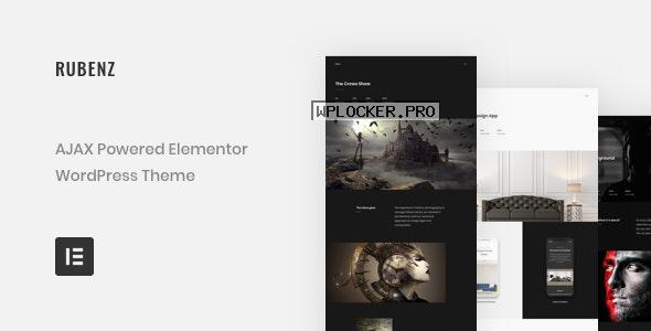 Rubenz v2.1.0 – Creative Portfolio AJAX WordPress Theme