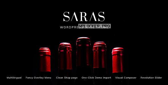 Saras v1.5 – Wine WordPress Theme