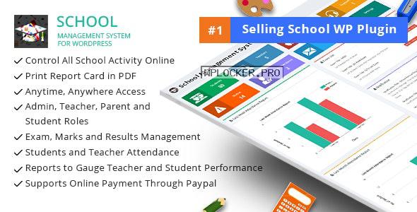 School Management System for WordPress v66.0