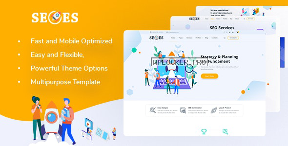 Seoes v1.0.2 – Marketing Agency WordPress Theme