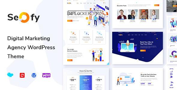 Seofy v1.5.14 – Digital Marketing Agency WordPress Theme