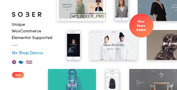 Sober v3.0.0 – WooCommerce WordPress Theme
