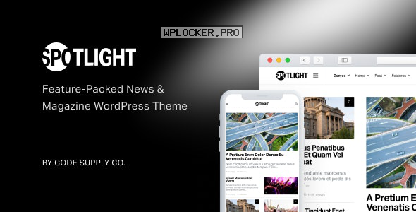 Spotlight v1.6.3 – Feature-Packed News & Magazine Theme