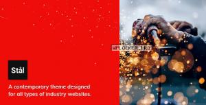 Stål v1.2.2 – Industry WordPress Theme