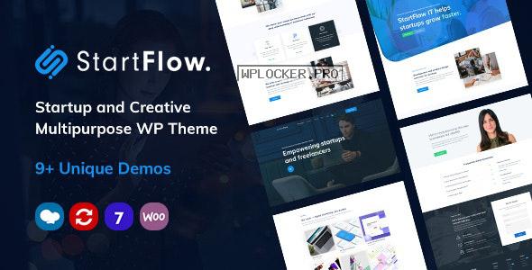 Start Flow v1.9 – Startup and Creative Multipurpose WordPress Theme